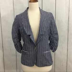 ModCloth Fervour Casual Striped Blazer